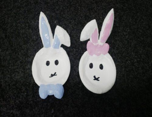 DIY Easter Bunny Bowls