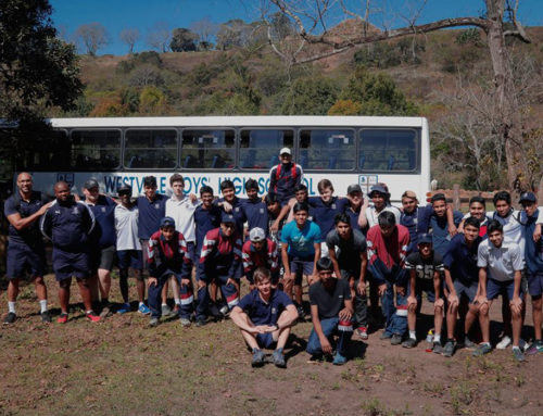 WESTVILLE BOYS HIGH SCHOOL SAY THANK YOU TO POWAFIX